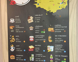 Breakfast producers map